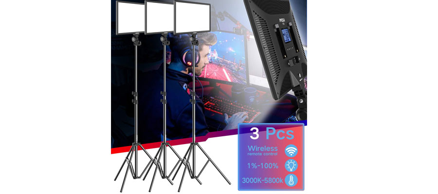 huge discount 477b1 df560 Best LED Video Light Kit Dimmable LED Panel | Reviews Zoo